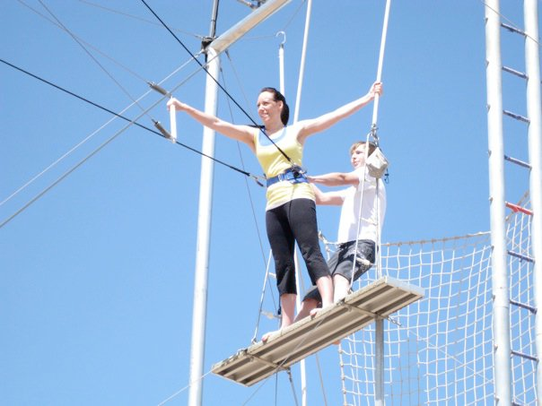 Trapeze Lessons | I Speak Canadian