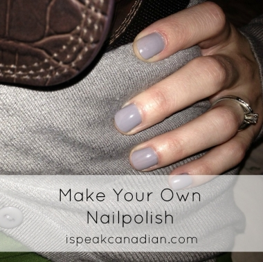 How to make your own nailpolish