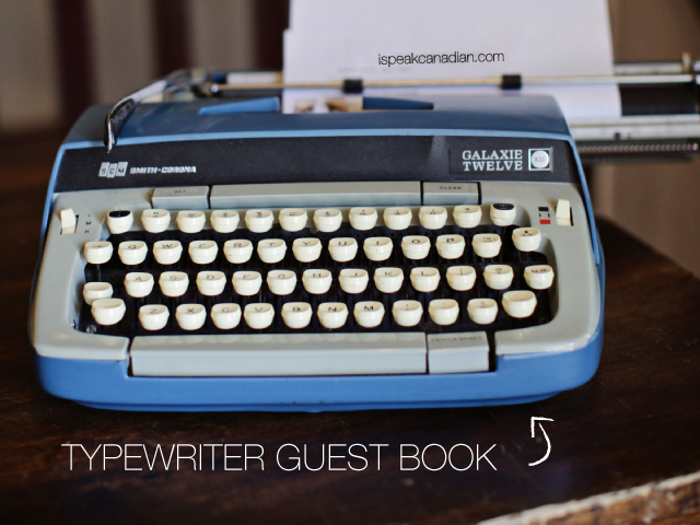 TYPEWRITERguestbook