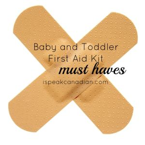 This post has lots of must-haves for your toddler and baby first aid kit.